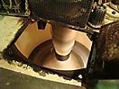 Une des centrifugeuses d'une usine sucrière